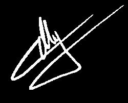 firma de Carmelo anaya autor de The Ripper
