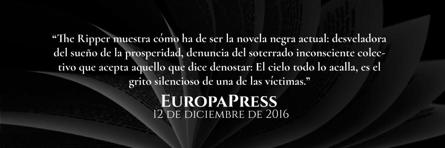 reseña-de-europapress-the-ripper-novela-policiaca